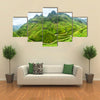 Lines of northwest Vietnam's most rugged Pass with beautiful winding Multi panel canvas wall art