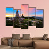 The Great Holy Relics Pagoda Thailand multi panel canvas wall art