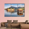 Jal Mahal in Man sagar Lake, Jaipur, India multi panel canvas wall art