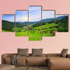 Panorama of summer Landscape, please see also other my picture Multi panel canvas wall art