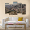 Mlilwane wildlife nature reserve mountain and tree in Swaziland Multi Panel Canvas Wall Art