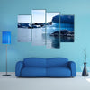 Blue iceberg Jokulsarlon lagoon Iceland multi panel canvas wall art