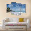 Beach Blue Cloud Sky Beauty in Nature Coastal Feature Multi panel canvas wall art