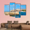 The fortress and lighthouse of El Morro of Havana in Cuba multi panel canvas wall art