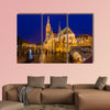 Matthias Church and Fisherman Bastion in Budapest Hungary - cityscape architecture background
