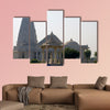 Architectural construction of the temple Birla Mandir, India wall art