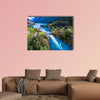 Beautiful Nature Norway natural landscape aerial canvas wall art