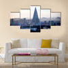 Pyongyang, capital of North Korea, Liu Jing Hotel multi panel canvas wall art