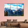 Lake Louise, Canadian Rockies Multi panel canvas wall art