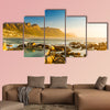 Twelve Apostles in South Africa at Sunset multi panel canvas wall art