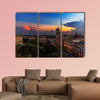 Sunset over Havana, Cuba multi panel canvas wall art