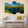 Looking Across The Dorothea Slate Of An Island Loaded With Water, United Kingdom, Multi Panel Canvas Wall Art