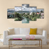 Nerteva River and Old City of Mostar, with Ottoman Mosque Multi panel canvas wall art