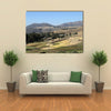 The landscape near Mekele in Ethiopia multi panel canvas wall art
