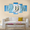 Flag of Guatemala - vector illustration Multi panel canvas wall art