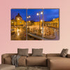 Szechnyi thermal bath spa in Budapest Hungary multi panel canvas wall art