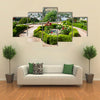 Genera life Garden in the Alhambra - Granada – Spain Multi panel canvas wall art