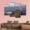 Compo producing fertilizer in the harbour of Krefeld, Germany multi panel canvas wall art