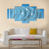 Vector Flag of Micronesia Multi panel canvas wall art