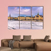 Panorama of the old town of Stockholm multi panel canvas wall art