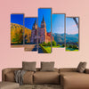 Sanctuary of Covadonga Asturias Spain multi panel canvas wall art