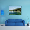 The most beautiful view of Lake Garda, Italy multi panel canvas wall art