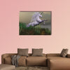 White Unicorn on Mountain multi panel canvas wall art