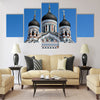 St. Alexander Nevsky orthodox church in Tallinn Multi panel canvas wall art