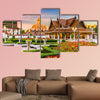 Wat Ratchanatdaram Temple in Bangkok, Thailand multi panel canvas wall art