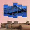 Eiger north face in winter, famous mountains Eiger, Monch and Jungfrau wall art