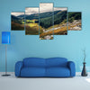 Glenmacnass Waterfall, Wicklow in Ireland multi panel canvas wall art