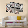 Home camera cctv monitoring system Multi panel canvas wall art