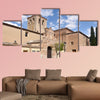 El Salvador church of Arevalo, Avila province, Castilla y Leon, Spain, Multi Panel Canvas Wall Art