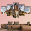 Wawel cathedral in the old town of Krakow, Poland multi panel canvas wall art