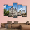 Buildings and Cathedral near Plaza de Mayo, Buenos Aires, wall art
