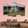 The Nile waterfall Tisissat in Ethiopia Multi panel canvas wall art