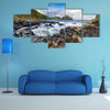 The Giant's Causeway in the morning, Northern Ireland multi panel canvas wall art
