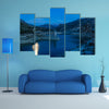 Embalse de Canales in Granada, Spain at evening multi panel canvas wall art