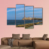 Panorama of the fort of Havana, Cuba multi panel canvas wall art