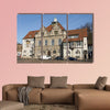 Town hall of Bergisch Gladbach in Germany multi panel canvas wall art
