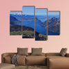 Spring in the Swiss Alps multi panel canvas wall art