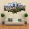Abidjan the largest city in the Ivory Coast Plateau Multi panel canvas wall art