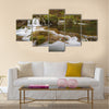 Grza river, East Serbia Multi panel canvas wall art