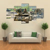 Nizhniy Tagil, Russia Modernized tank T-72 armoured deminer Multi panel canvas wall art