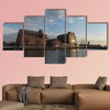 Inner Harbor Duisburg, Germany multi panel canvas wall art