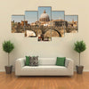 The view of St Peter Basilica Rome Multi panel canvas wall art