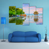West Lake Hangzhou Scenery Multi Panel Canvas Wall Art