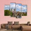 Historical York city center viewed from York City wall Multi panel canvas wall art
