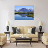 Glacier national park multi panel canvas wall art