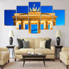 Brandenburg Gate in Berlin night. Deutschland multi panel canvas wall art